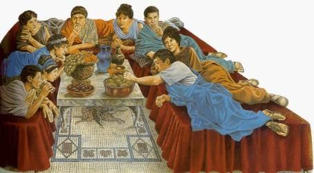 antichi romani - pulcinella