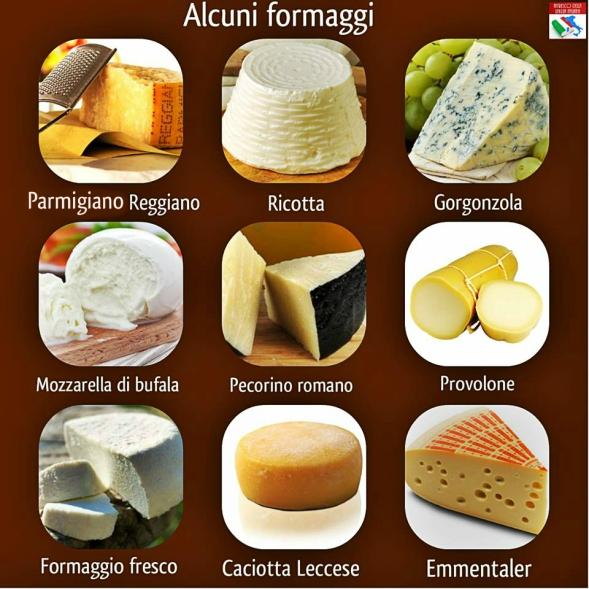 alcuni formaggi