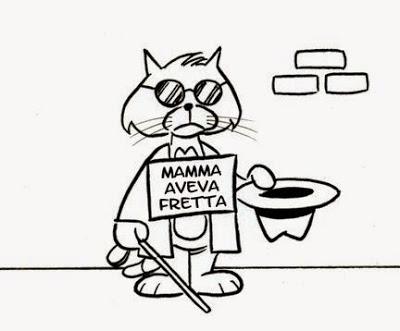 La gatta frettolosa fece i gattini ciechi - Significato • Scuolissima.com